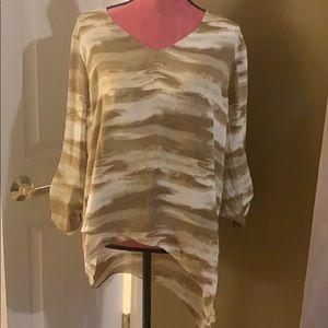 Michael Kors blouse 3/4 sleeve